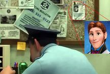 Hidden Easter eggs from Disney movies