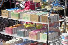 Soap displays