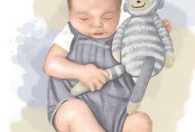 baby porträt