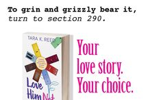 """Love Him Not: Choice Cards (Interactive Romantic Comedy Novel) / A handful of the choices you'll make as Elle Masters in interactive romantic comedy novel, Love Him Not. Help her maneuver her relationship milestones from """"Meet Cute"""" to """"I Do!"""" and 60 Happily (rarely) Afters.  (commercial fiction, interactive, romcom, Reading)"""