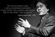 Satoru Iwata / 1959-2015  RIG   Rest In Games