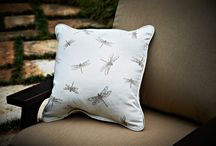 Peak Season Decorative Pillows / Accent pillows are not just for inside spaces anymore. With exquisite materials and embellishments, our new pillows add fashion, style and comfort to any outdoor living space. Careful attention to detail in the design and manufacturing defines these comfy and beautiful additions.