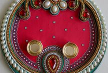 thali decoration