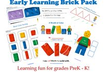 Lego and Puzzles and Blocks Activities
