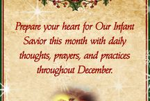 Christmas - Spiritual Preparation / Prepare for Our Infant Savior this Advent with daily prayers, thoughts, and practices.