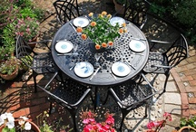 Garden Furniture / Some of our furniture and some that inspires us.