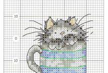 X Stitch - Les chats