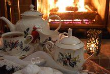 A tomar té
