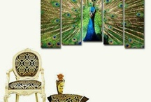 My peacock obsession / Decor / by MariLulis Romero