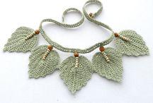 Crochet and tatting jewelry