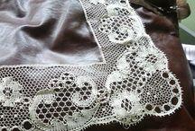 Tønder kniplinger & Bucks point lace
