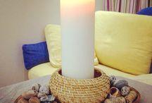 Подсвечник / candlestick / Дом для свечей.