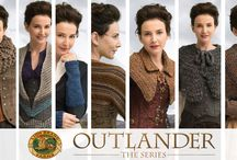 Outlander Knit & Crochet / Lion Brand® is the official licensee of knit and crochet kits & patterns inspired by the popular television series, OUTLANDER THE SERIES. There are seven knit and seven crochet easy-to-make designs made in your favorite Lion Brand® yarns. / by Lion Brand