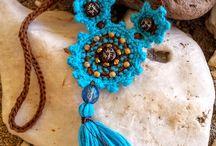 Crochet Jewelry - Made by My