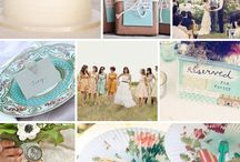 Coral and Mint / by Orange Blossom Paperie