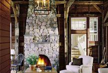 Fireplaces / by Jennifer Rackley