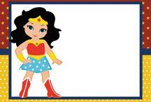 FESTAS INFANTIS / Temas favoritos de festas infantis... decoração, kits digitais...