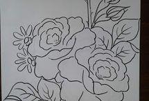 desenhos para pintar em tecido