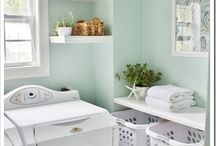 Laundry Ideas and Makeovers / Inspiration for the forgotten room ... the laundry
