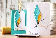 feather cards