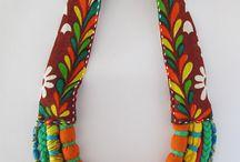 collar ermoso tribal