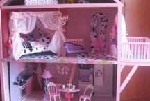 handmade wooden toys / ξυλινο κουκλοσπιτο, χειροποιητο