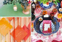 Rainbow of Colors | Wedding Decor and Inspiration
