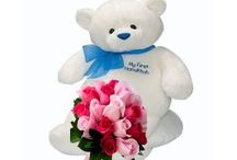 Buy Roses With Teddy Online for Your Favourite One and Send it to India / Flowers Cakes Online Team Launches Android App for all Online Products like flowers,cakes, chocolates  and many other products. When You Order Flowers  in  India, or purchase a delicious cake online or send a gift  across  India in any occasion you just download FlowersCakesOnline app and buy any products with huge options and discounts.