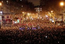 Je suis Charlie / Charlie Hebdo Paris 7 janvier 2015