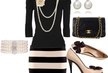 "Resourceful Attire Sets / ""Style is saying who you are without having to speak."" ~ Rachel Zoe"