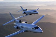 Jet privé & hélicoptère