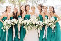 vestido verde turqueza