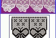 Bico para Toalha de Mesa de Crochê / Nozzle for Crochet Tablecloth