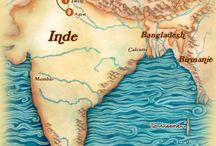 Inde sacrée / Vallée du Gange et Himalaya