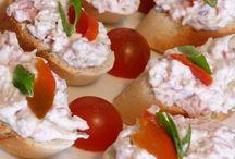 Pomazánky- Saláty a Jiné