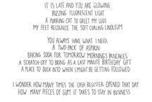 Words / by Marina Zheleva
