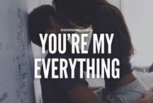 you're my...