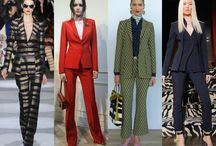 Pantsuit Trend /  Fashion Trends Pantsuits