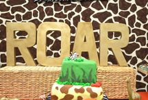 Jungle bday party