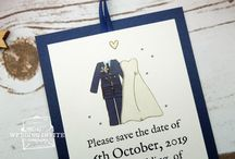 Wedding Save the Date / Just set your wedding date? A save the date gives you time to plan your wedding stationery properly, whilst ensuring your guests know that they are invited to your big day.