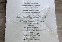Sea wedding invites