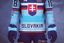 Team Slovakia Ball Hockey