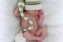 Шапочка для новорожденного фотосессия