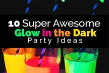 Glow and the dark party