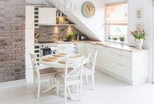Dachschräge Küche