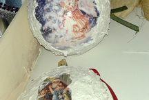 Ozdoby świąteczne / Ozdoby świątecznie ręcznie robione