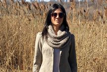 Easy Crochet Cowl Scarf PATTERN Pinterest, Twice Wrapped Cowl, Infinity Scarf