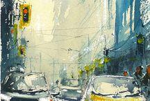 Watercolor paintings 2