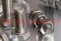 پیچ و مهره / صنایع پیچ و مهره آژآکس تولید کننده انواع پیچ و مهره شش گوش، پیچ آلن و استاد بولت