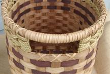 Basket, hand woven